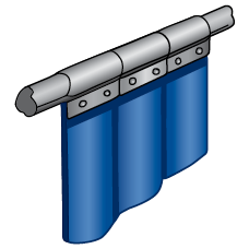 steiner-tinted-transparent-vinyl-strip-curtain-tnp-pipe-mount-47301