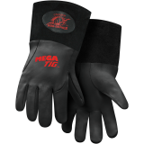 Steiner Pro-Series™ MegaTIG™ Premium Kidskin TIG Welding Gloves With Rest Patch - ThermoCore™ Foam Lined Back, Long Cuff