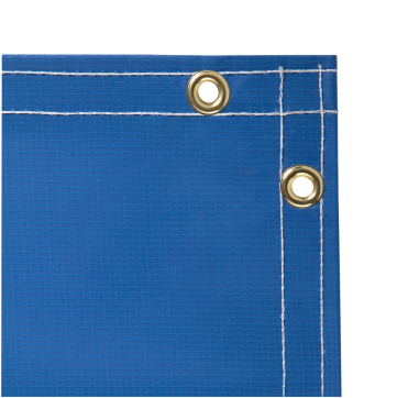 /Steiner Laminated Vinyl Welding Curtain Roll Blue 335